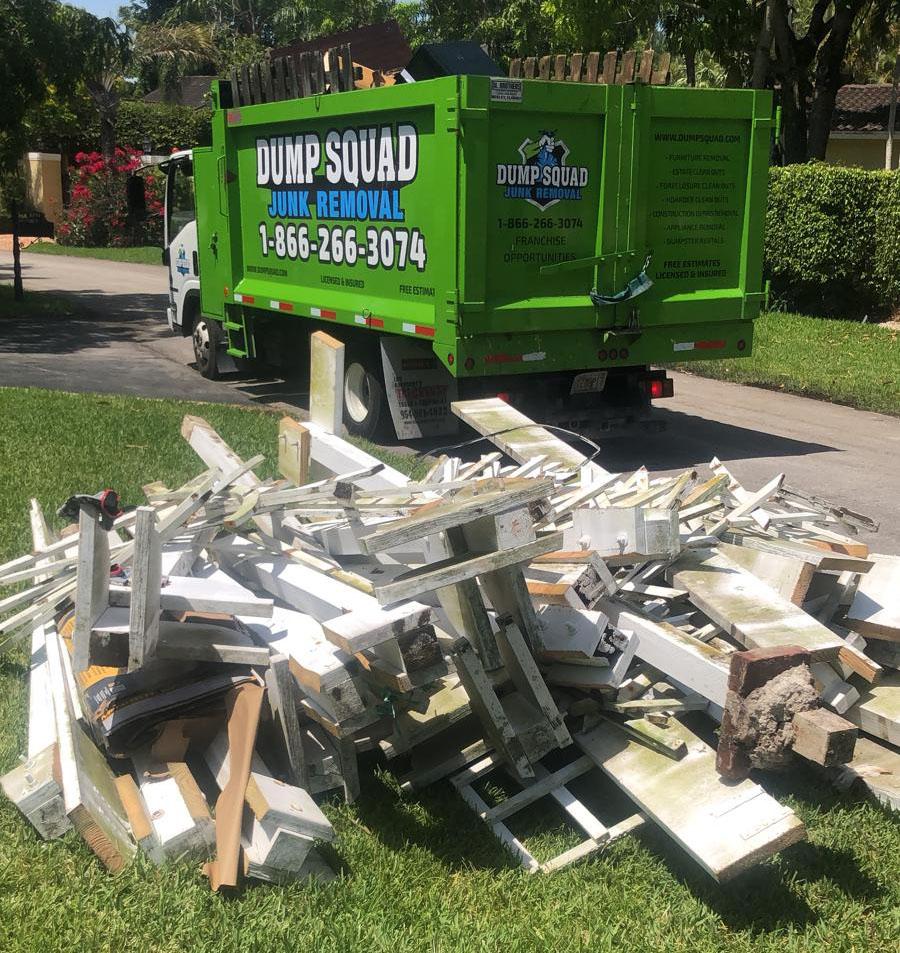 Junk Removal Broward County, FL - Dump Squad Junk Removal