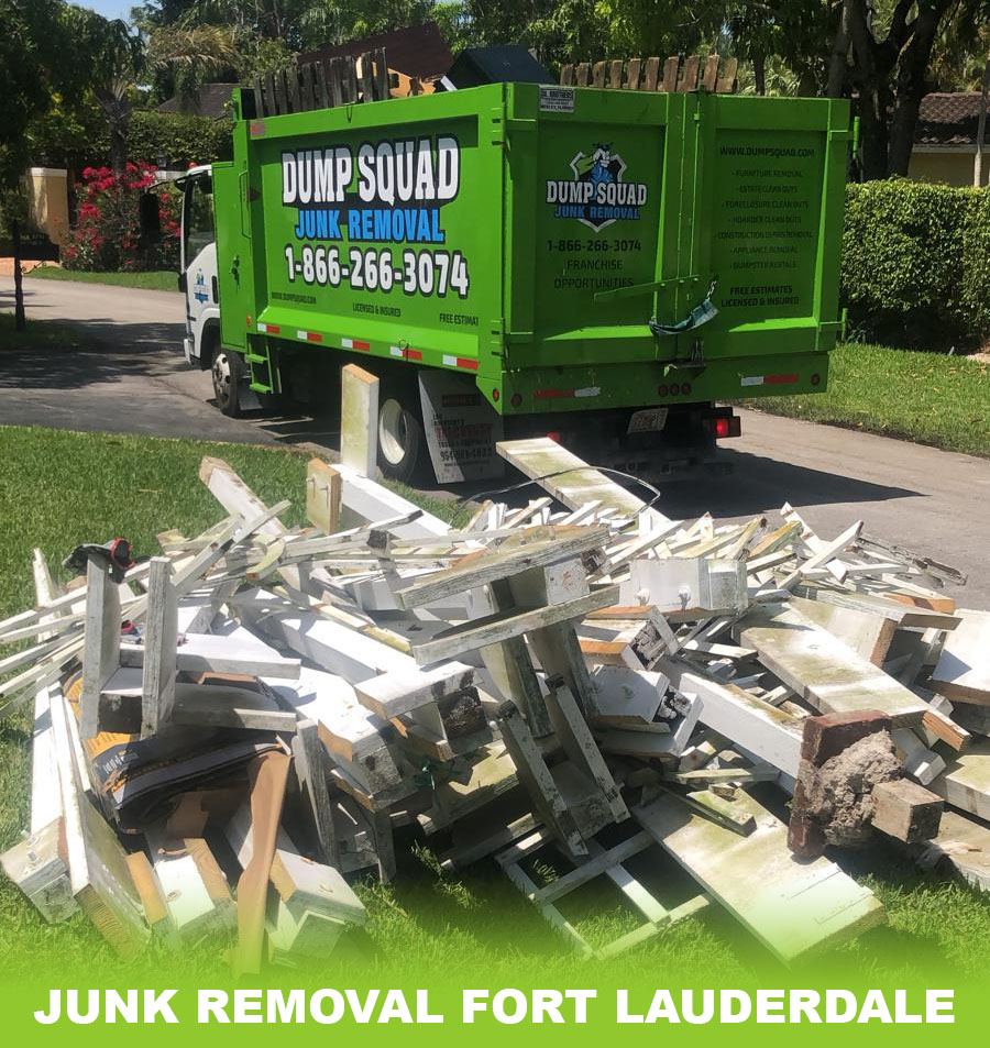 Junk Removal - Fort Laudredale, FL