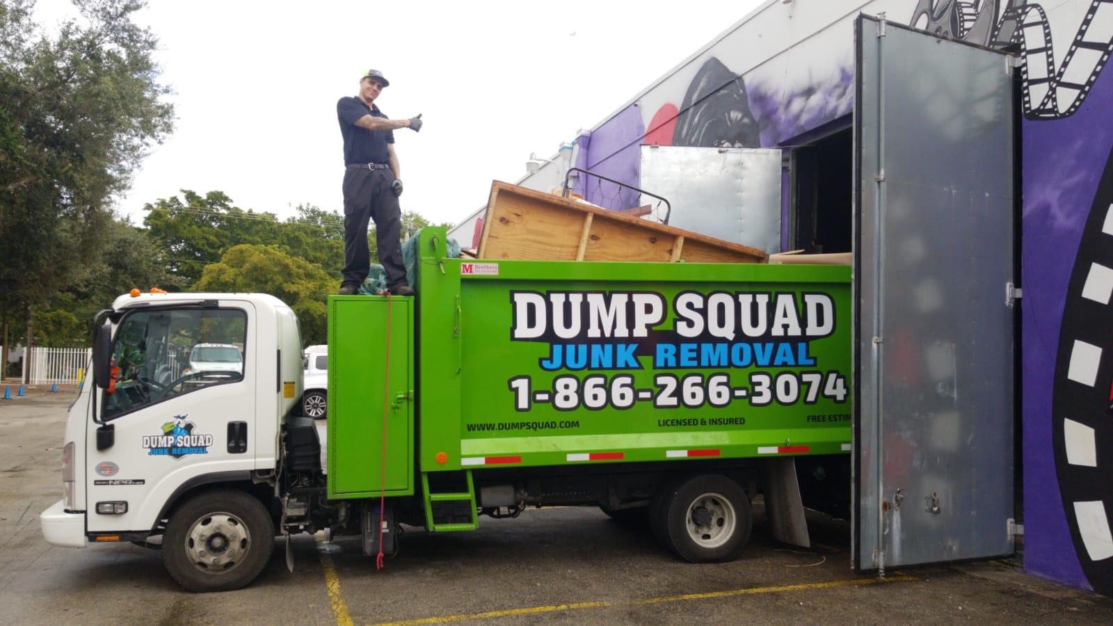 Junk Removal Dumpster Rental Fort Lauderdale Fl Dump Squad